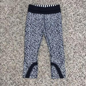 Lululemon Athletica High Rise Crop Non-Reflective